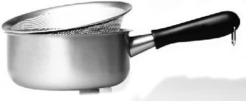 柳宗理(やなぎそうり)片手鍋 18cm ガス火専用 つや消しの商品画像