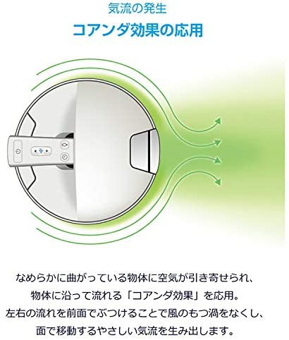 DeLonghi(デロンギ) 空気清浄機能付き スリムファン HFX85W14Cの商品画像5
