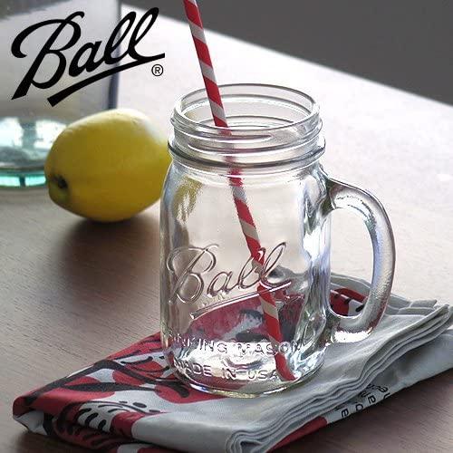 BALL(ボール)メイソンジャー [ ドリンキングマグ 480ml クリア ]の商品画像3
