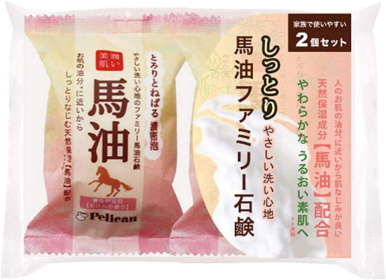 ペリカン石鹸(PELICAN SOAP) 馬油ファミリー石鹸の商品画像