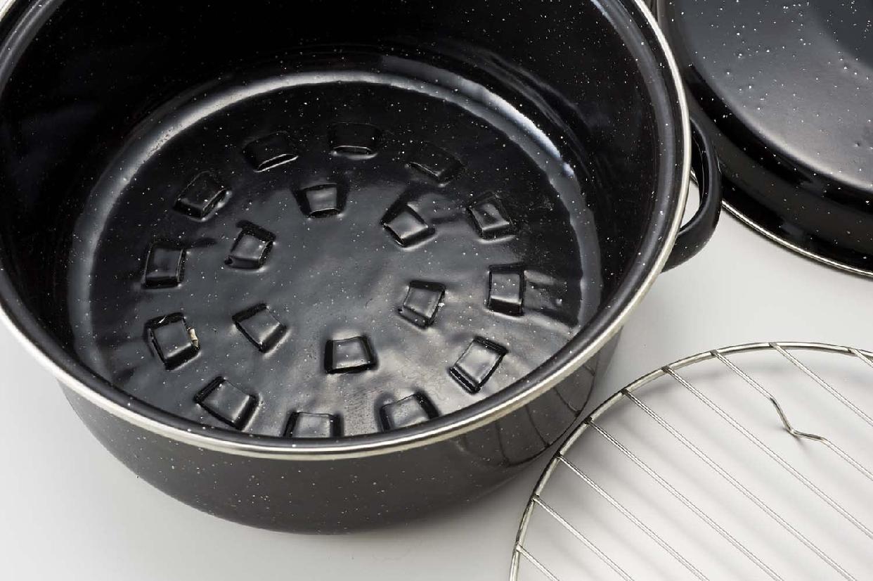 パール金属(PEARL) いろりや ホーロー やきいも 鍋 22cm H-2650の商品画像3
