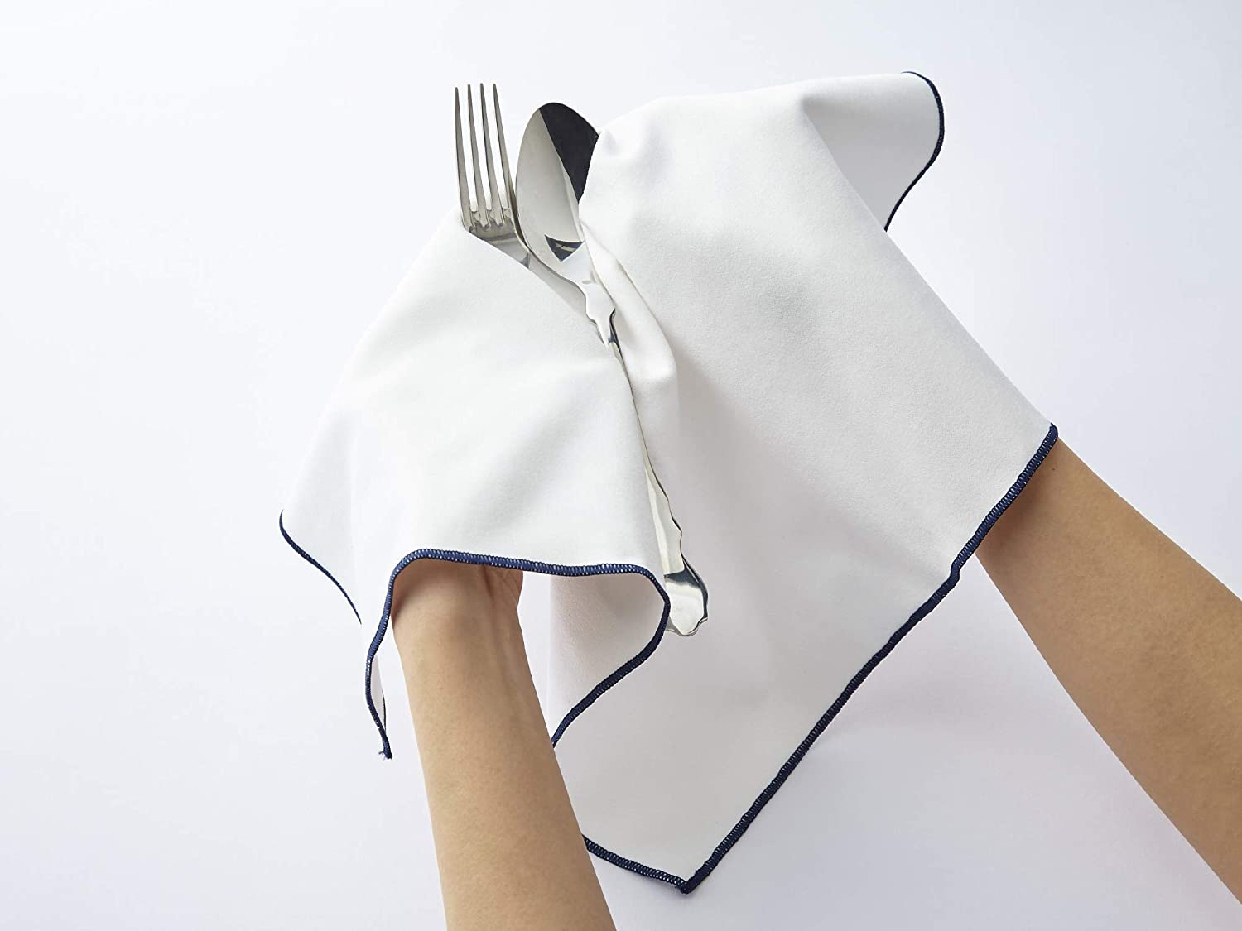 そうじの神様(ソウジノカミサマ)肌触りが優しい 食器拭きクロス ホワイト S081の商品画像2