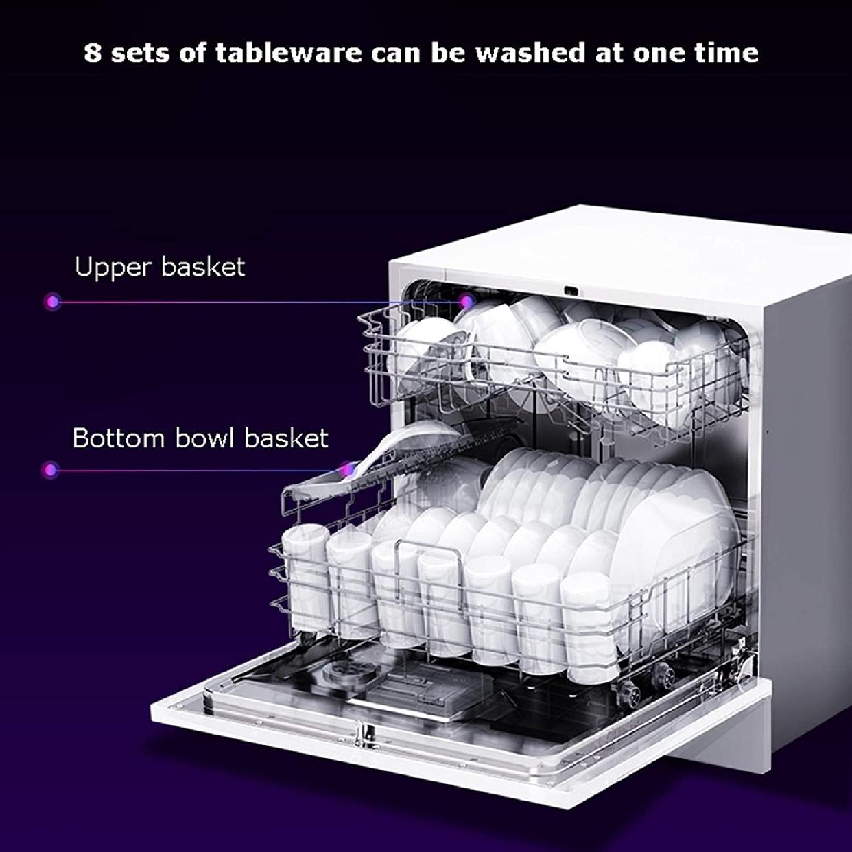 グオダシタンセン ビルトイン食器洗い乾燥機 ホワイトの商品画像3
