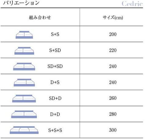 e-バザール(イーバザール) 収納付き 連結ベッド セドリックの商品画像3