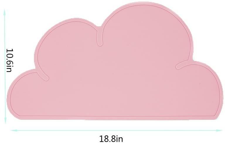 Standard(スタンダード)ランチョンマット キッズ 雲(ライトピンク)の商品画像9