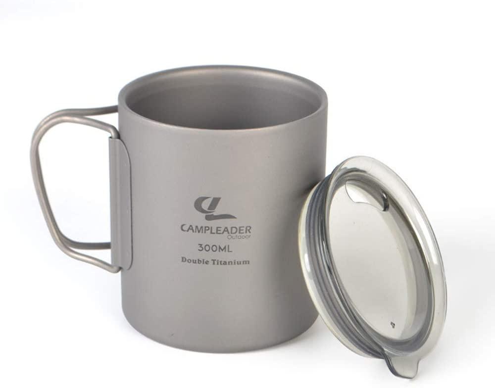 Campleader(キャンプリーダー) チタンコップの商品画像4