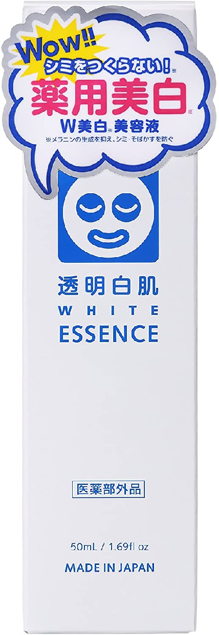 透明白肌(とうめいしろはだ)薬用Wホワイトエッセンスの商品画像