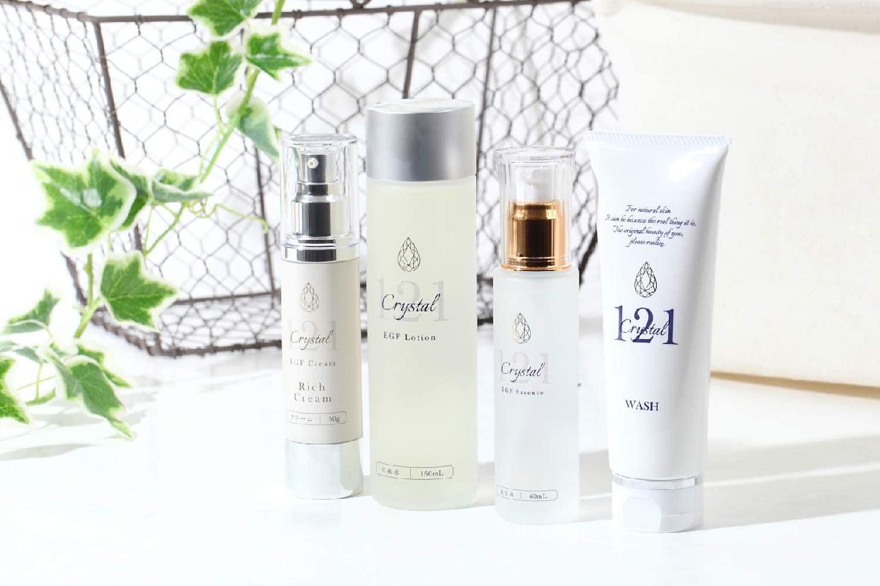 クリスタル121 高濃度 EGF 化粧水 ローションの商品画像4