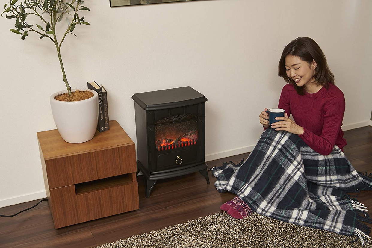 山善(YAMAZEN) 暖炉型ヒーター YDH-SK10の商品画像7