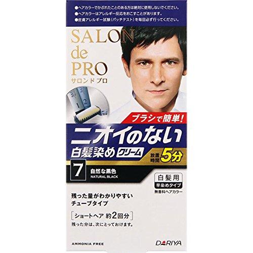 SALON de PRO(サロン ド プロ)無香料ヘアカラー メンズスピーディの商品画像