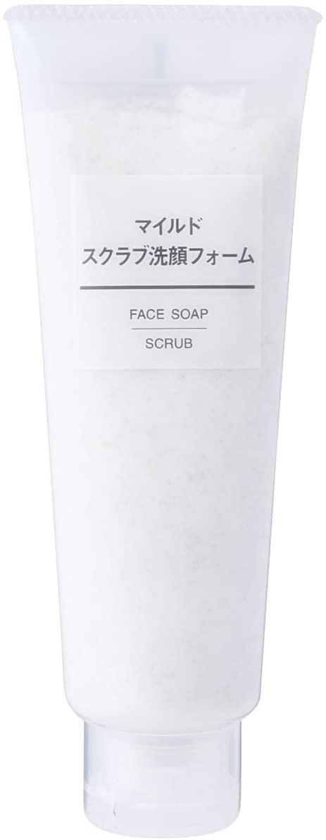 無印良品(MUJI) マイルドスクラブ洗顔フォーム