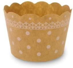 天満紙器(テンマシキ)マフィンカップ S(ドットクラフト) 50枚入 WEB02-50の商品画像