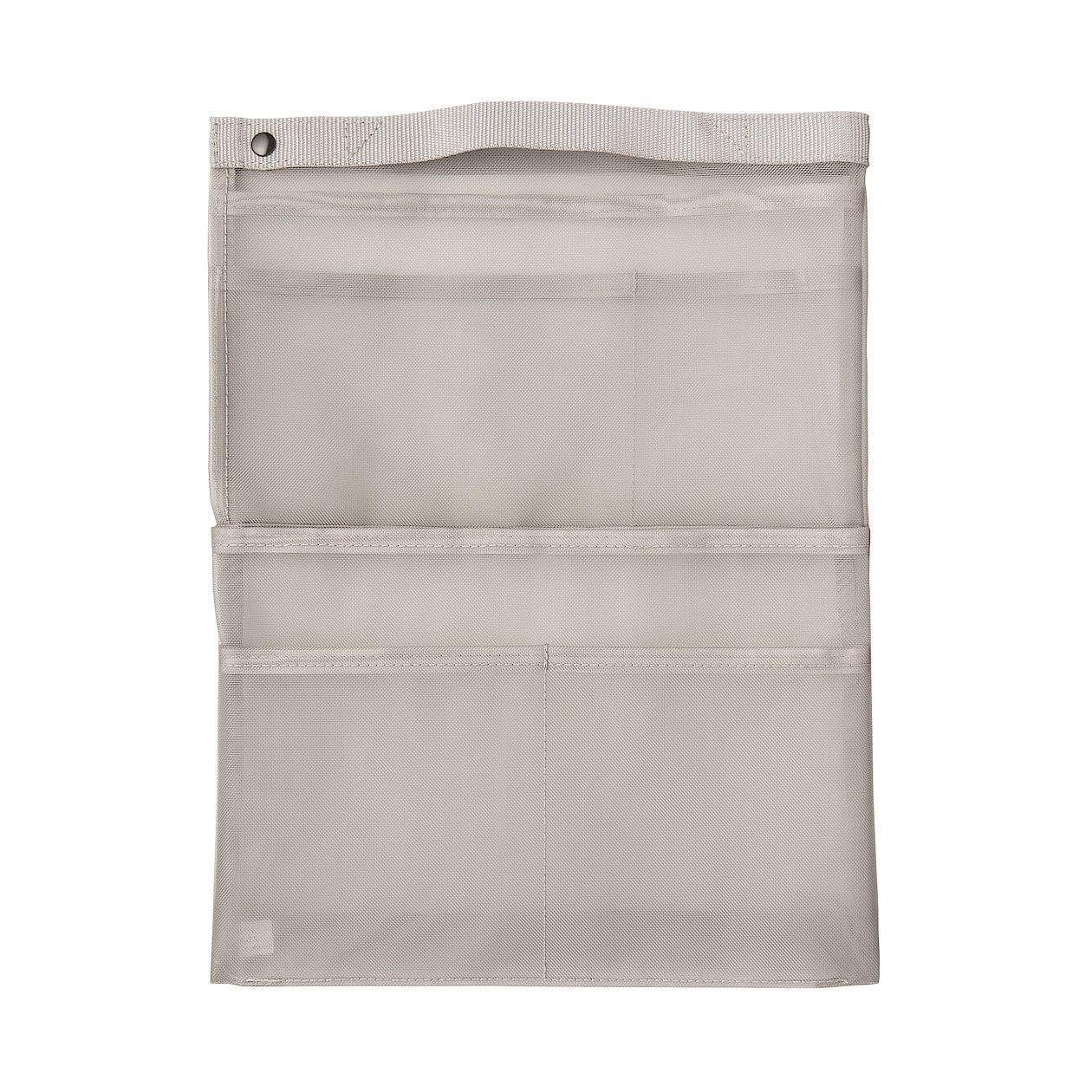 無印良品(MUJI) ナイロンメッシュバッグインバッグ A4サイズ用 タテ型