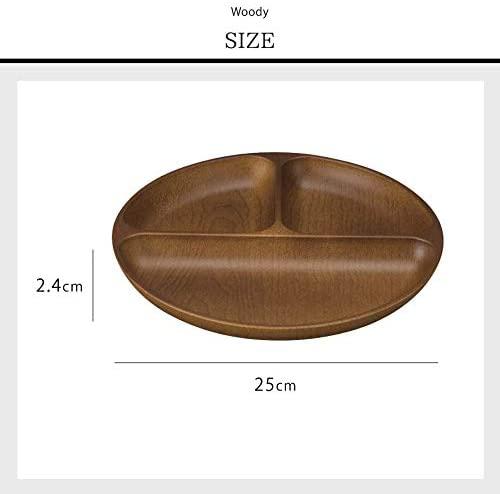 kano(カノー) Woody ランチプレート マーチブラウンの商品画像5
