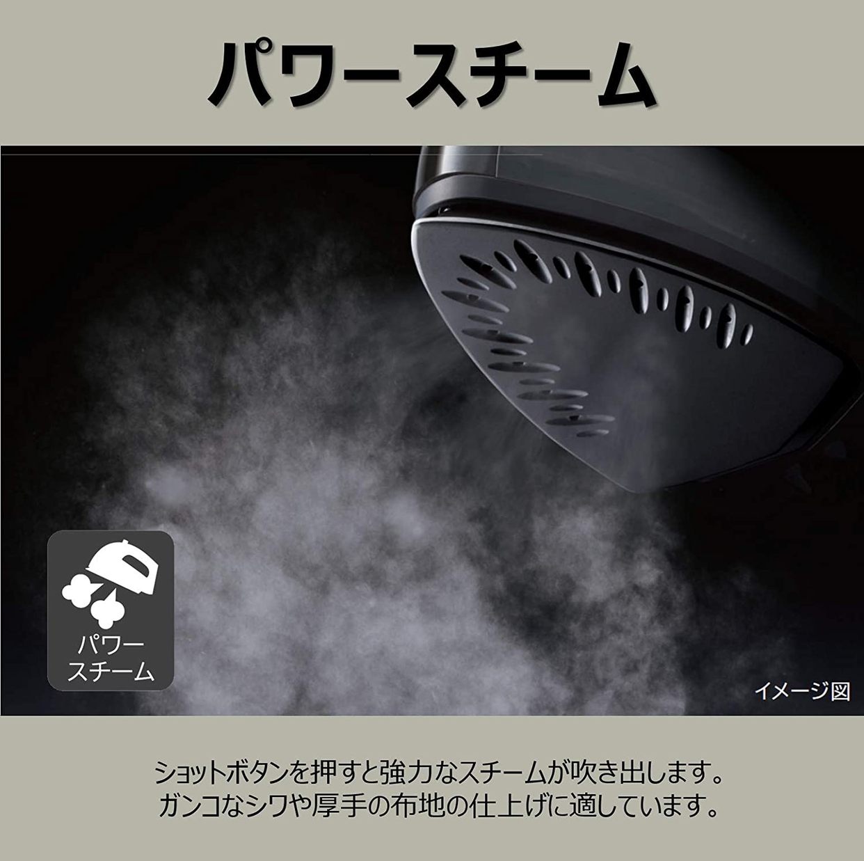 日立(HITACHI) コードレススチームアイロン CSI-307の商品画像3