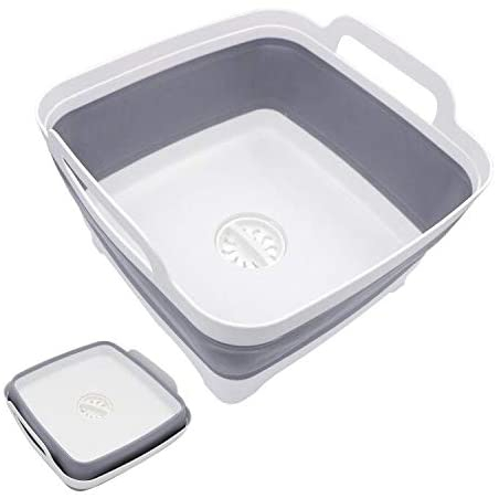 Hiveseen(ハイブシーン) 洗い桶 折りたたみ 8Lの商品画像