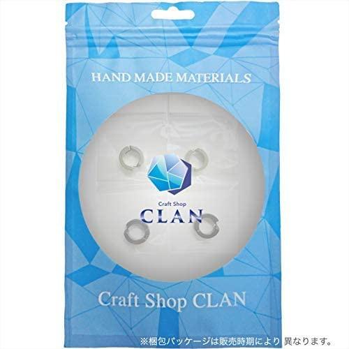 CLAN(クラン) フェイクピアス ブラック&シルバーの商品画像6
