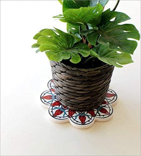 ギギliving 鍋敷き トルコの陶器プレート [ras4867]の商品画像2