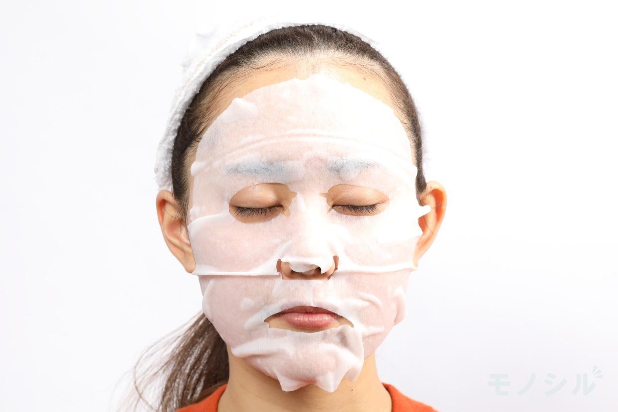 Saborino(サボリーノ) オトナプラス 夜用チャージフルマスクの商品画像4 実際に商品をつけた様子