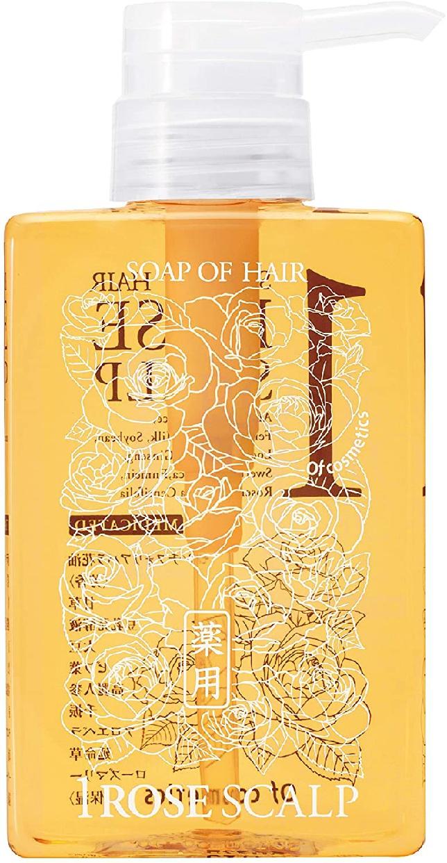 Of cosmetics(オブ・コスメティックス) 薬用ソープオブヘア・1-ROスキャルプ (ローズブーケの香り)の商品画像10