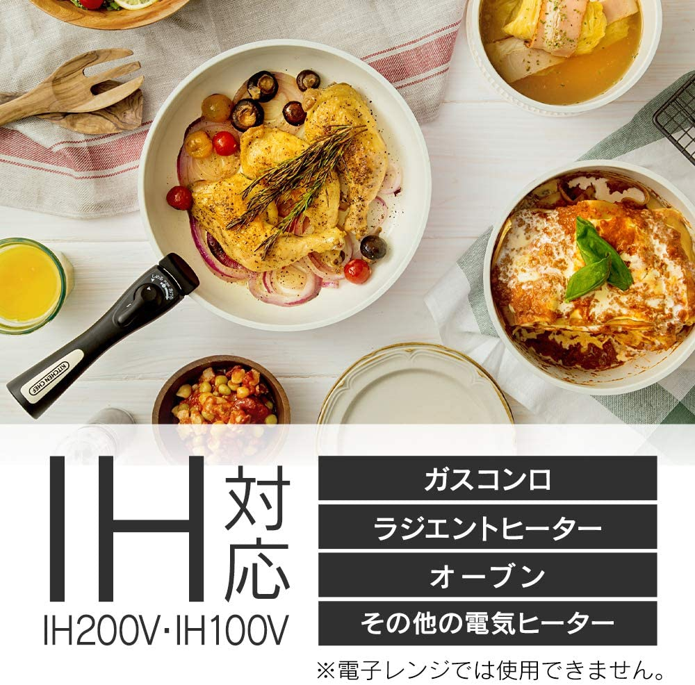 IRIS OHYAMA(アイリスオーヤマ)セラミックカラーパン 6点セットの商品画像4