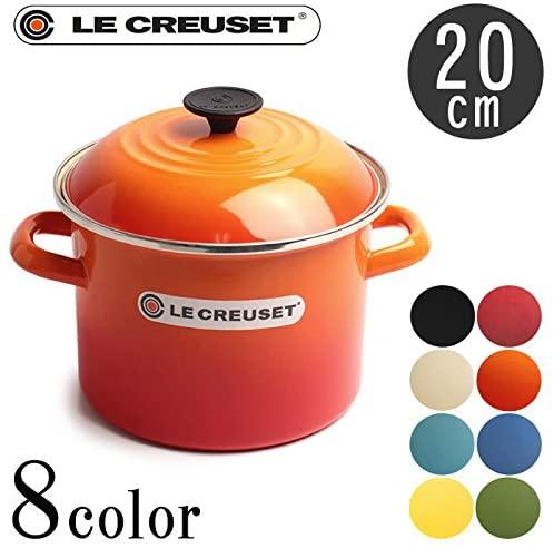 LE CREUSET(ル・クルーゼ) ストックポット 20cm 5.7L N4100-20 03.マルセイユブルーの商品画像2