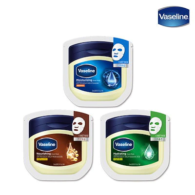 Vaseline(ヴァセリン) モイスチャーライジング シートマスク