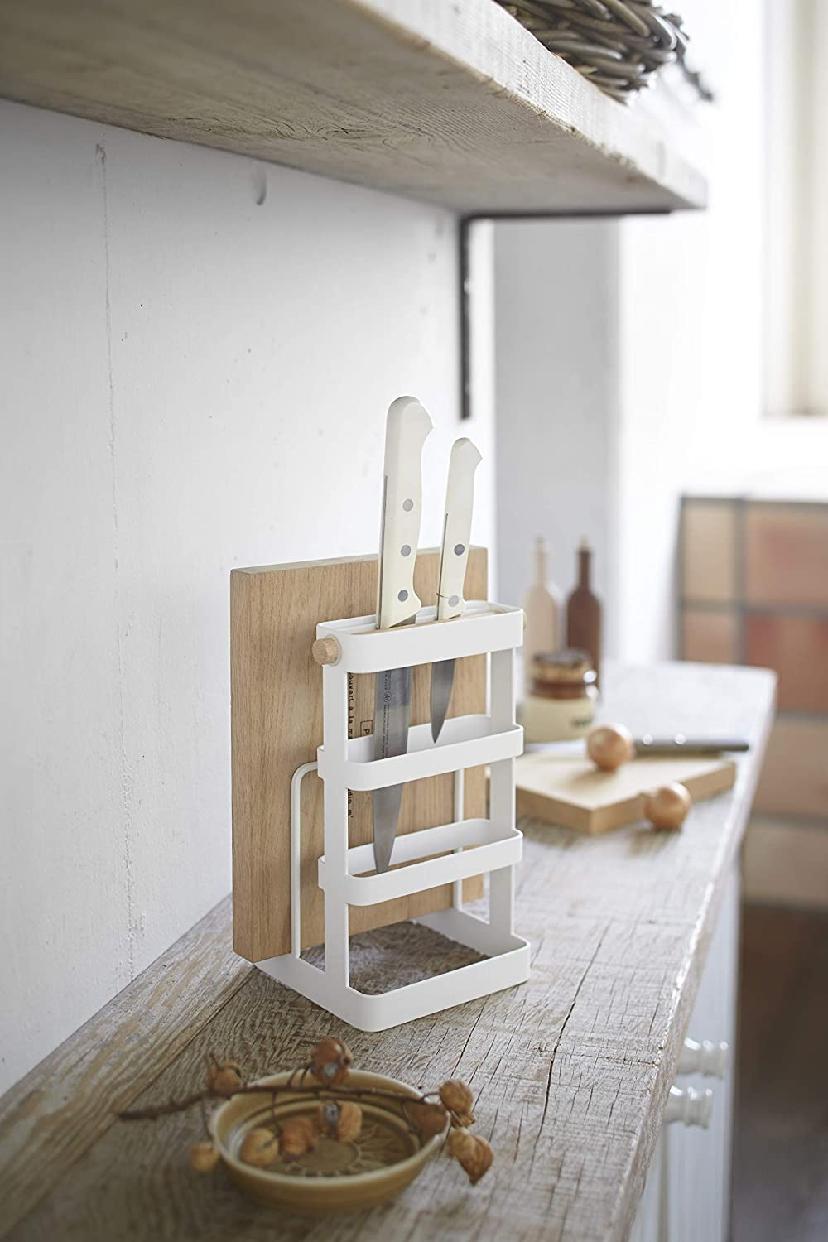 山崎実業(Yamazaki) 包丁&まな板スタンド トスカ 2421の商品画像2