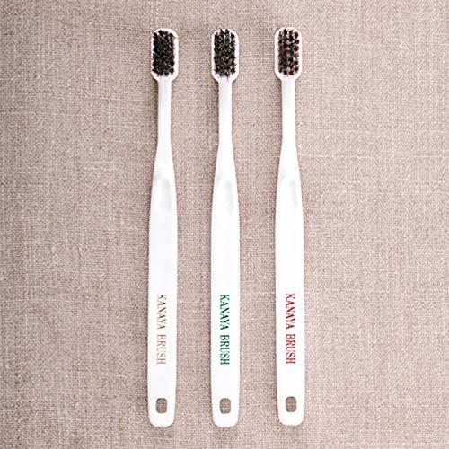 かなや刷子(かなやぶらし)馬毛歯ブラシ小の商品画像3