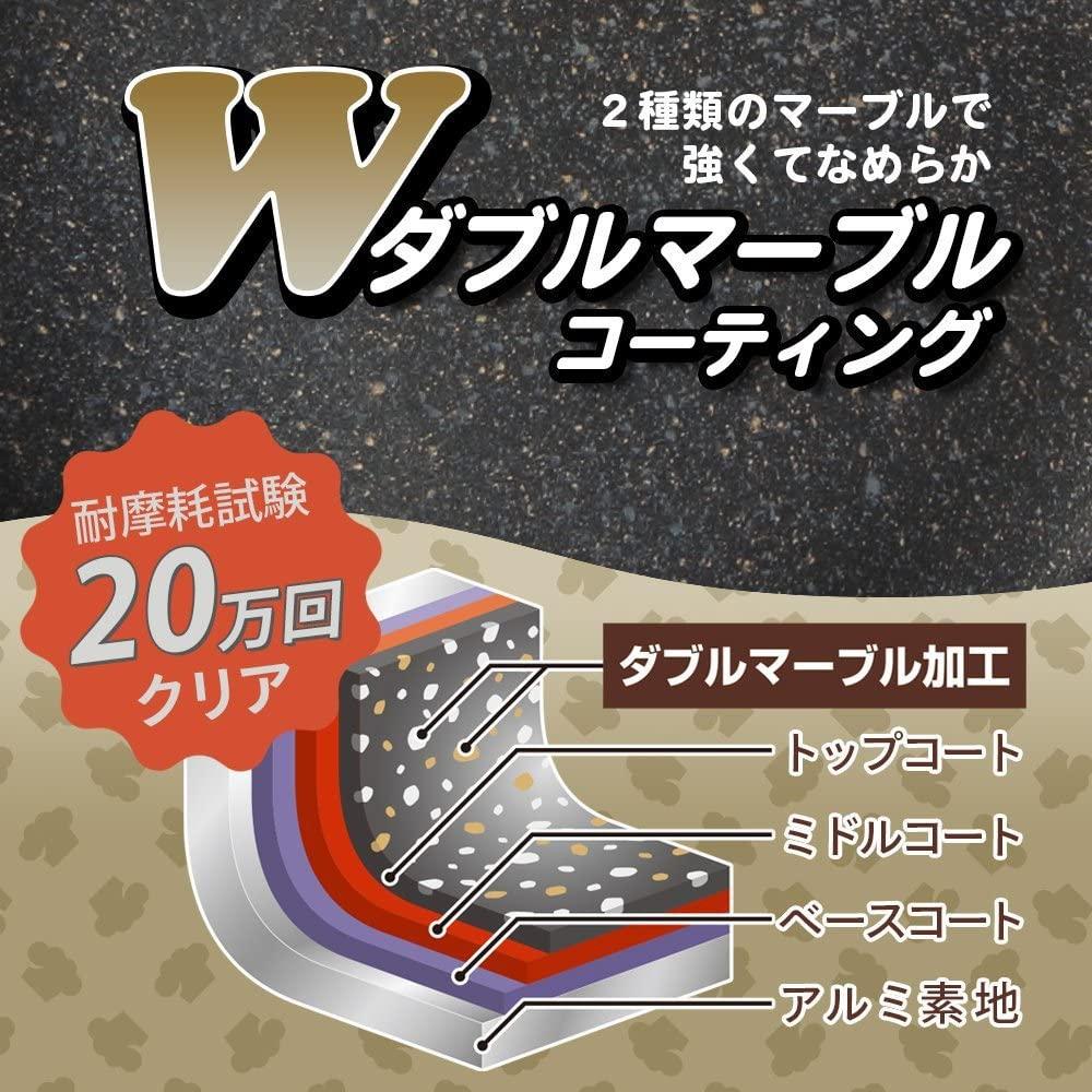 和平フレイズ(FREIZ) クックデリー ダブルマーブルコート  卵焼き器の商品画像4