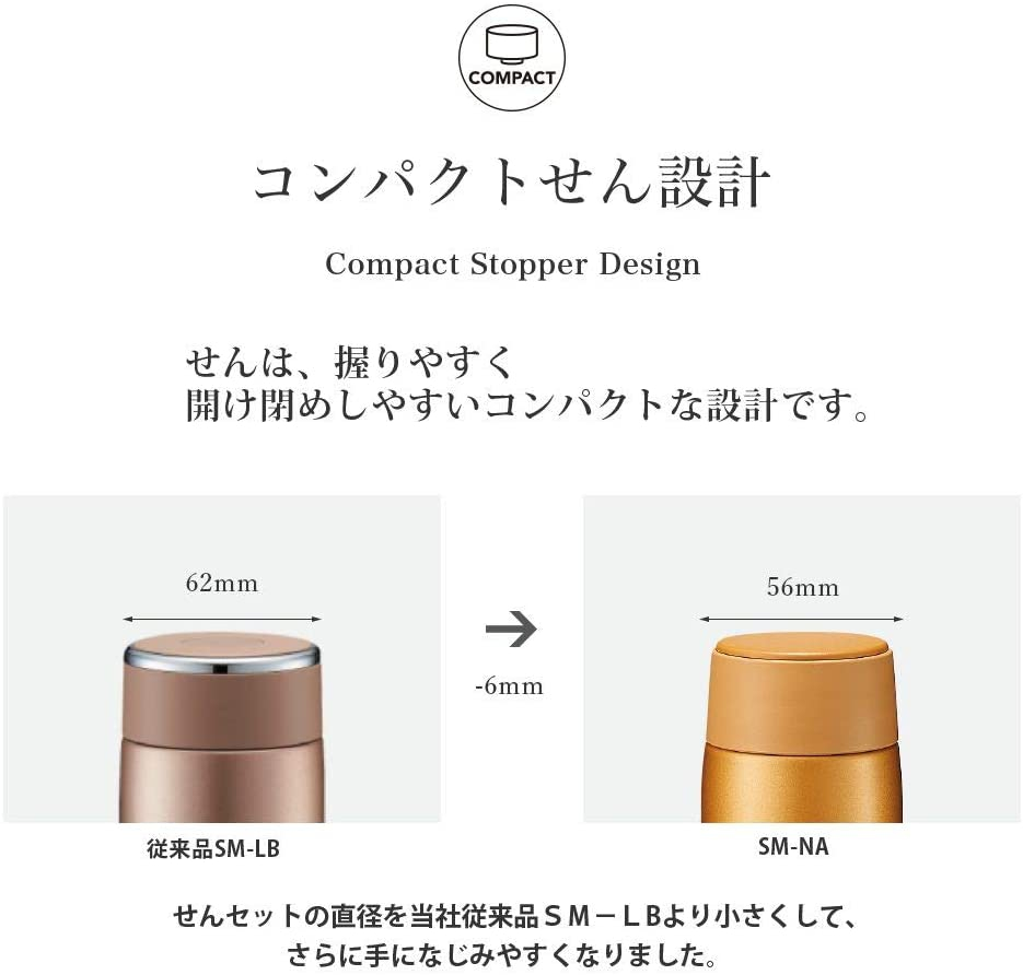 象印(ZOJIRUSHI) ステンレスマグ  SM-NA48の商品画像5