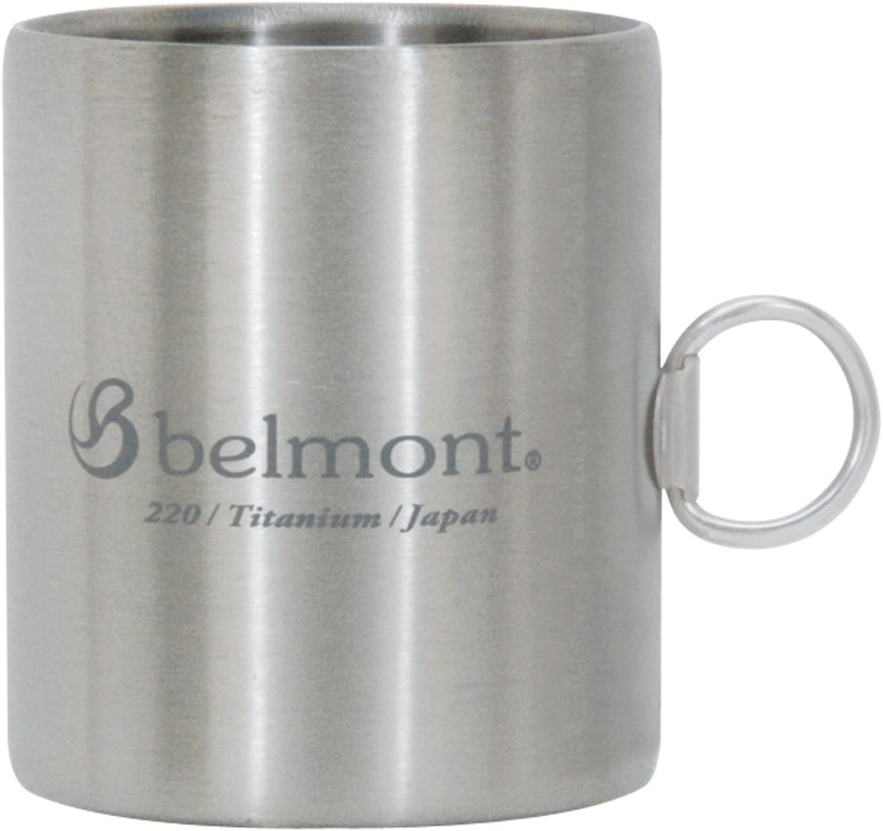 Belmont(ベルモント) チタンダブルマグ220リング付logo BM-301の商品画像
