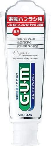 GUM(ガム) デンタルジェル(電動ハブラシ用)