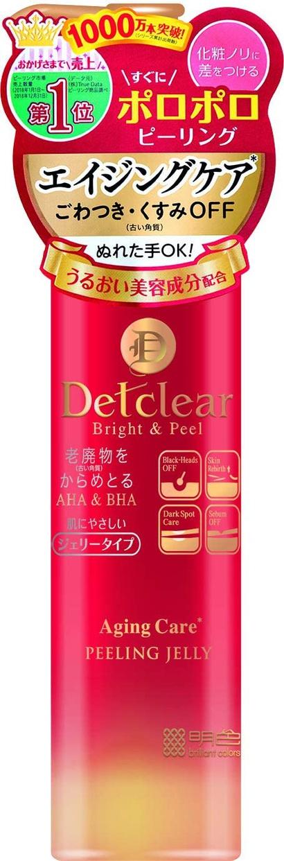 DETクリア(ディーイーティークリア) ブライト&ピール ピーリングジェリー <エイジングケアタイプ>の商品画像