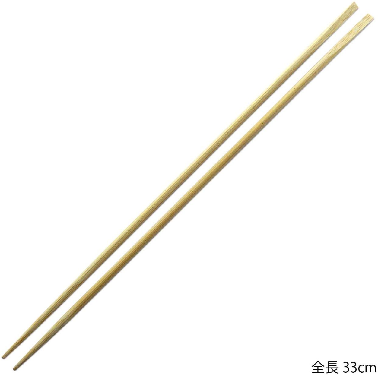 山下工芸 天削菜箸 33cm 27338000の商品画像2