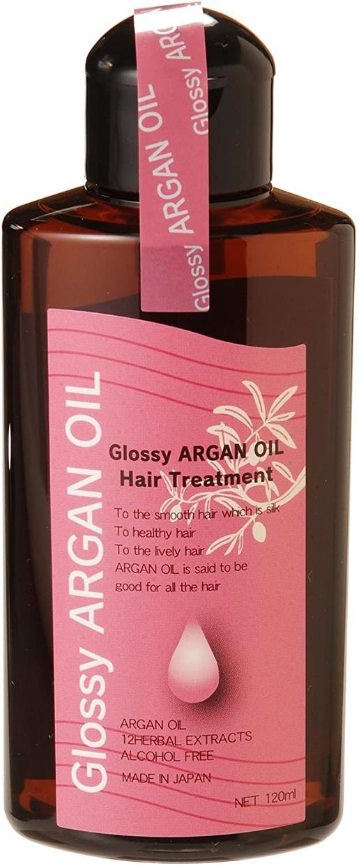 Glossy(グラッシー) アルガンオイルヘアトリートメントの商品画像