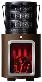 PRISMATE(プリズメイト) 人感センサー付 暖炉ヒーター PR-WA010の商品画像