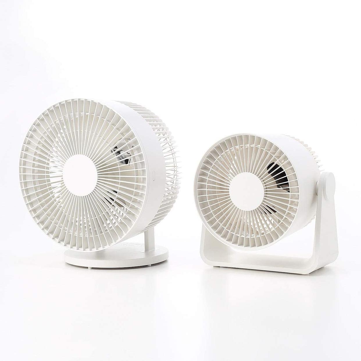 無印良品(MUJI) サーキュレーター(低騒音ファン・大風量タイプ) AT-CF26R-Wの商品画像14