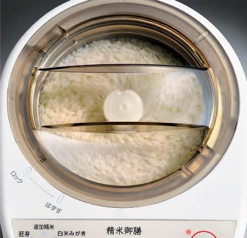 TWINBIRD(ツインバード)コンパクト精米器 精米御膳 MR-E500Wの商品画像11