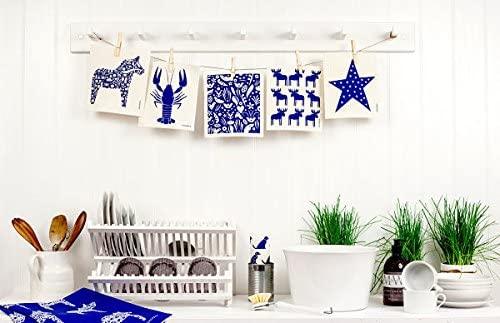 JANGNEUS(ヤングネウス)北欧スポンジワイプ ムース ブルーの商品画像2