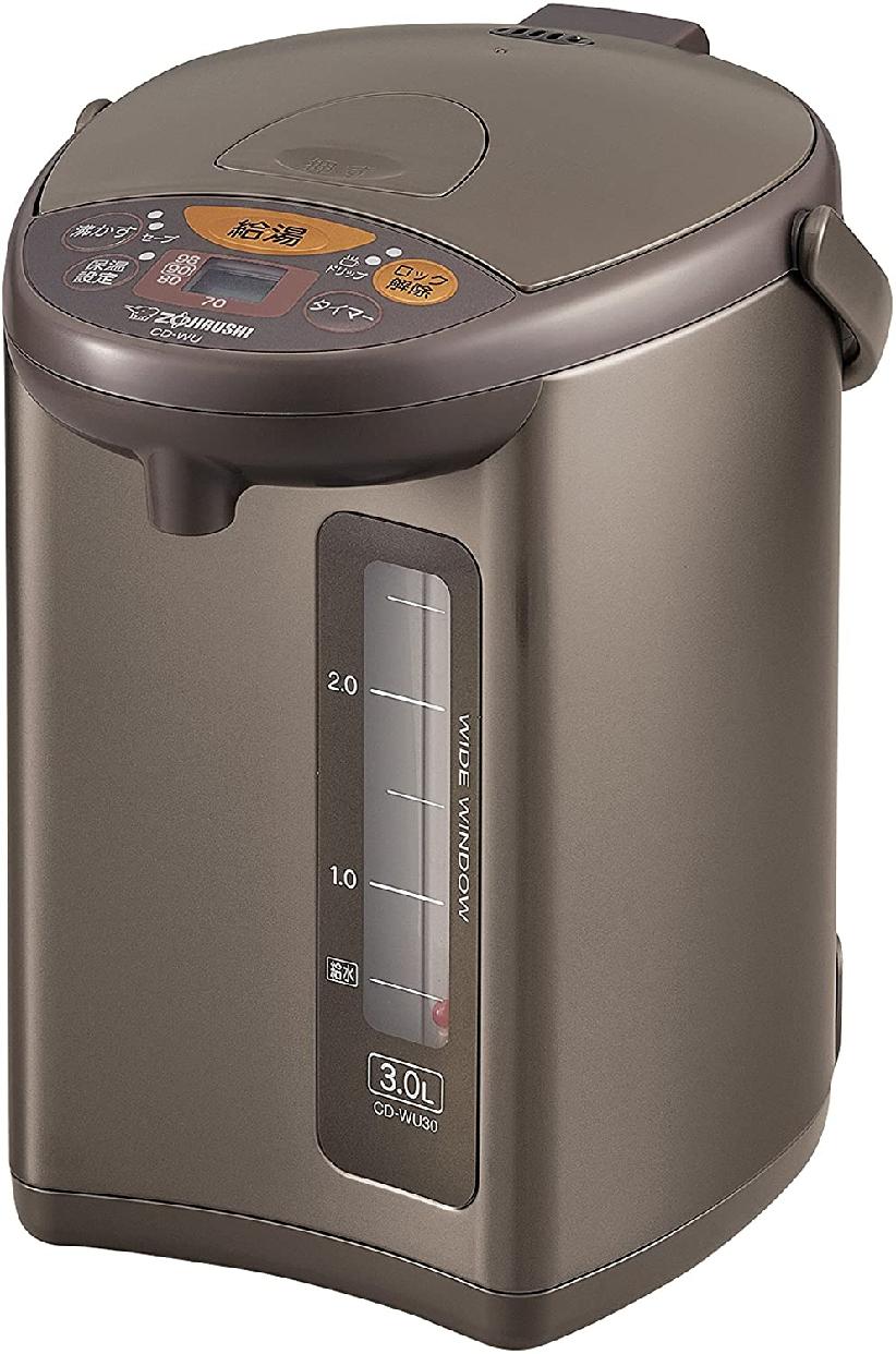 象印(ぞうじるし)マイコン沸とう電動ポット CD-WU30の商品画像