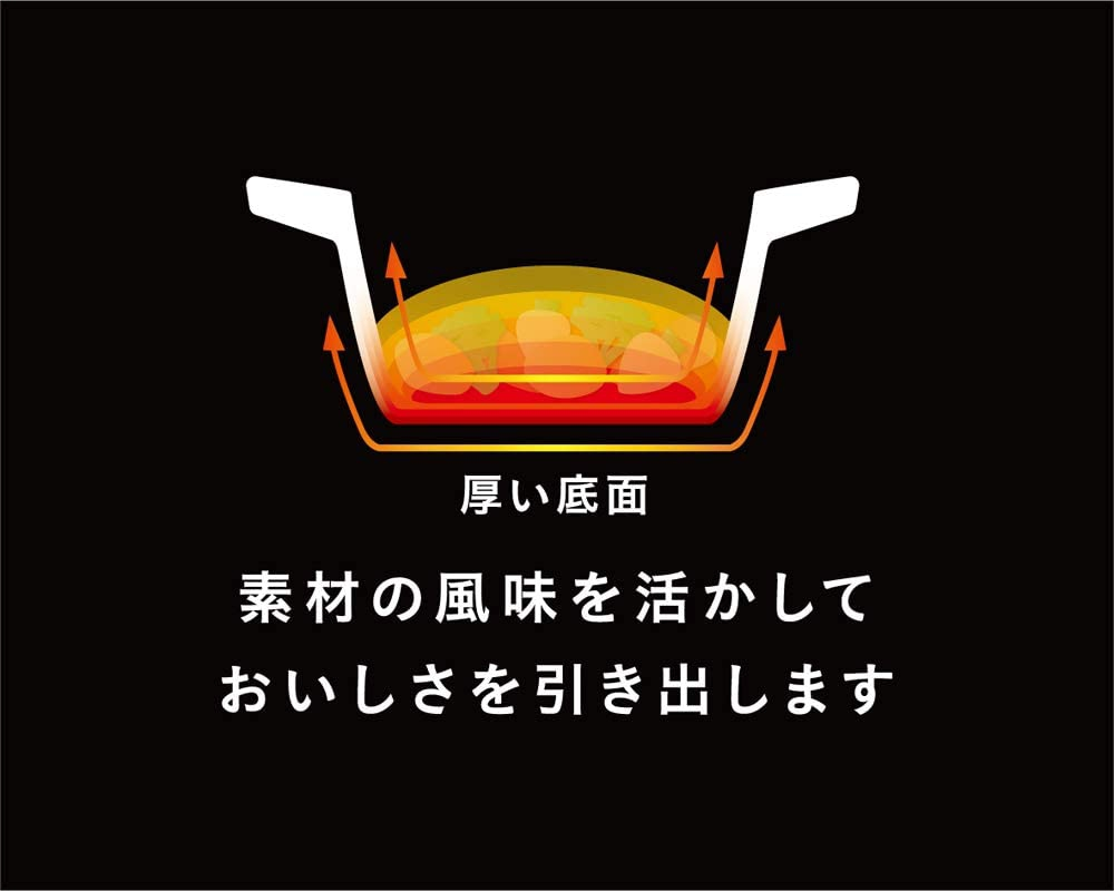 T-fal(ティファール)キャストラインアロマ シチューポット 20cm ブラック E22144の商品画像5