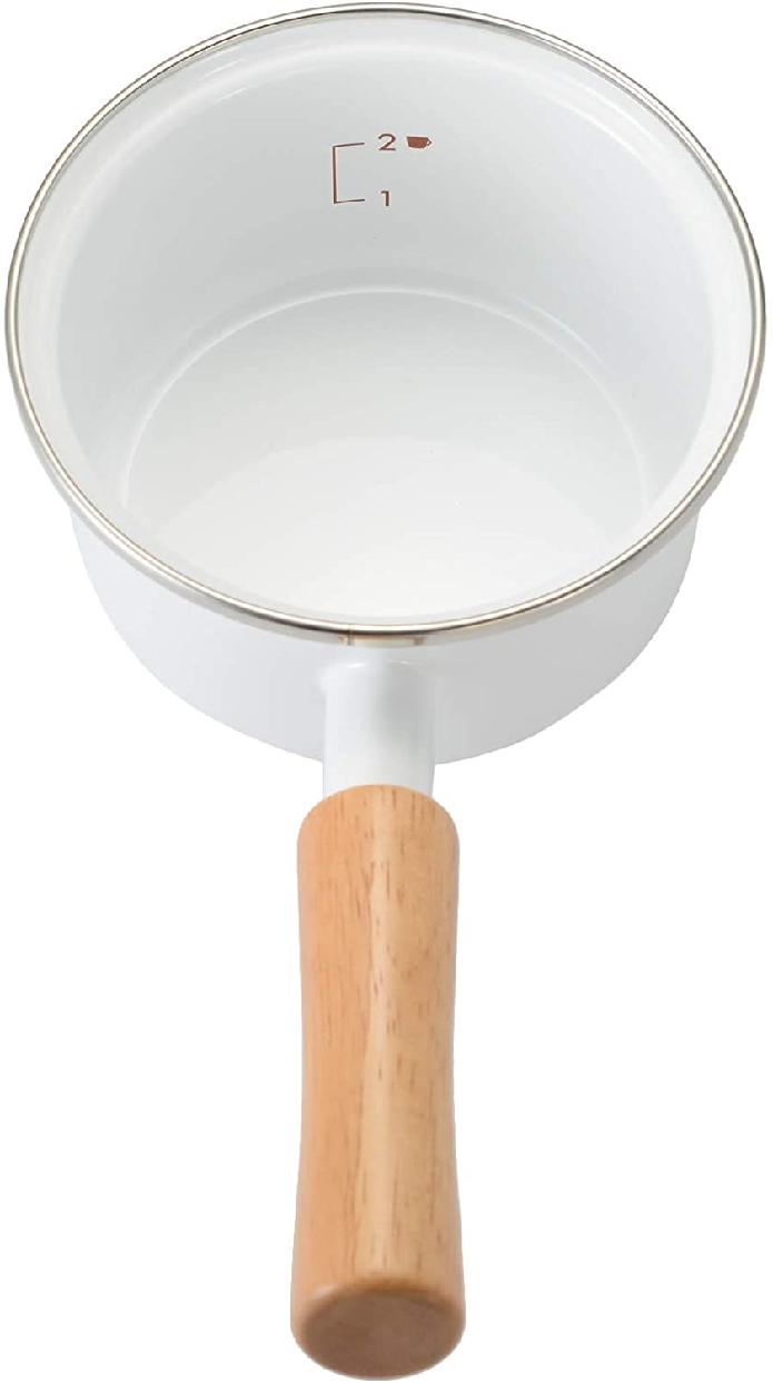 富士ホーロー(富士ホーロー)ソースパン 12cm ホワイトの商品画像4