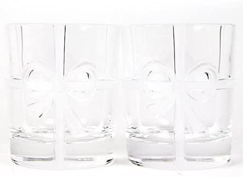 TIFFANY&Co(ティファニー) ボウ グラスセット 2点セット215ml (名入れなし)の商品画像2
