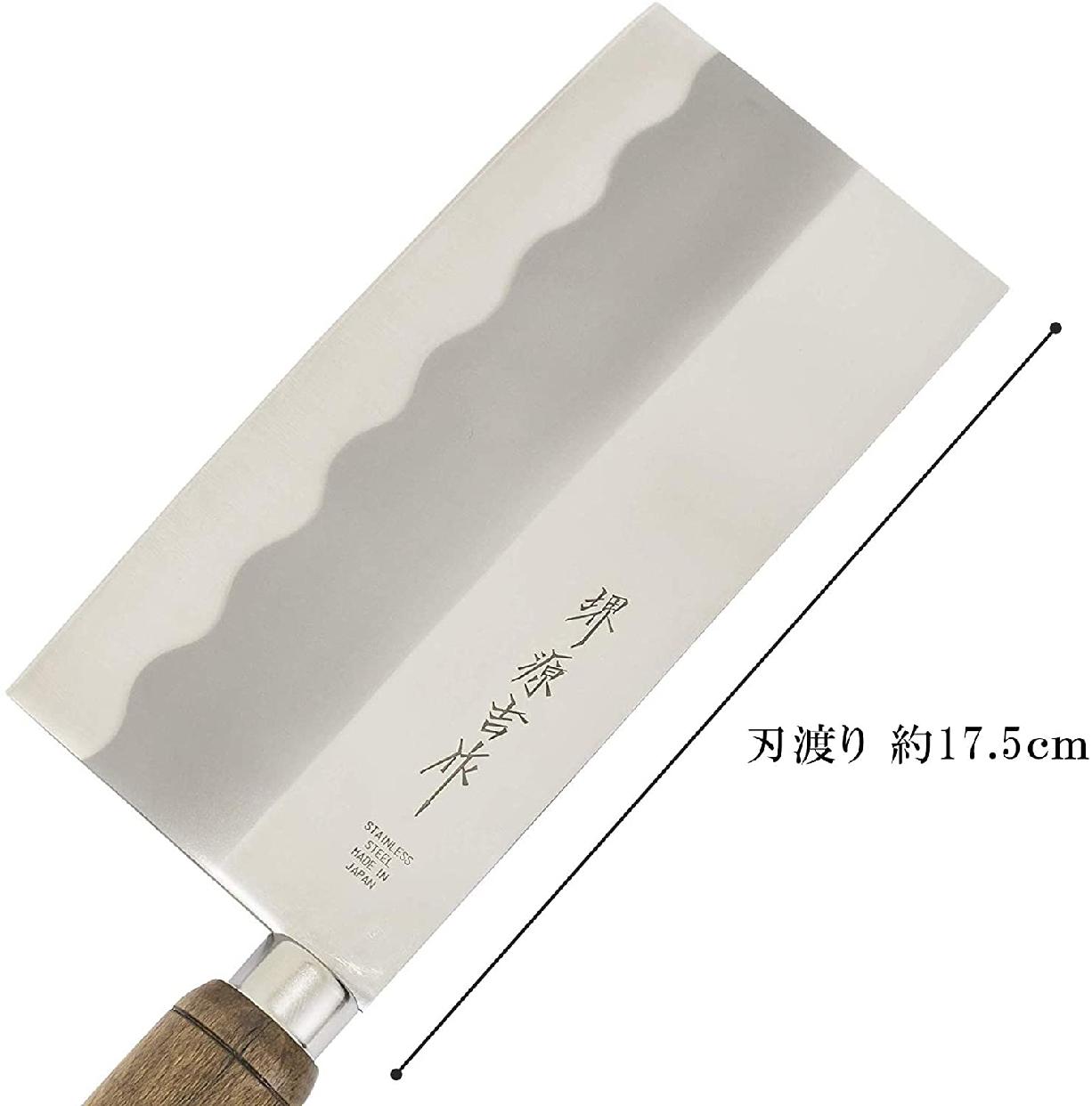 堺源吉作(Sakai Genkichi) 中華 包丁 175mm ステンレス 太鼓柄の商品画像4