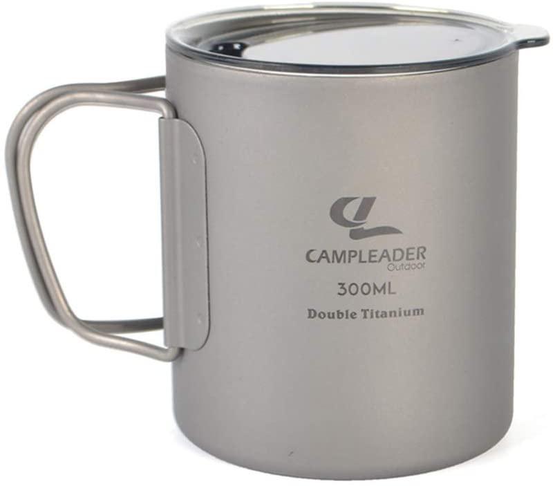 Campleader(キャンプリーダー) チタンコップの商品画像
