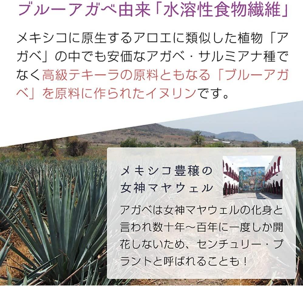 nichie(ニチエー) 水溶性食物繊維オーガニック イヌリンの商品画像5