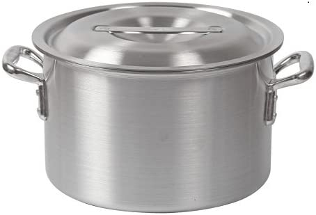 ハイスト アルミ製半寸胴鍋 24cm蓋有 FH82100Fの商品画像