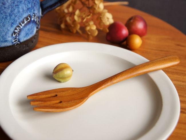 LOLO(ロロ) SALIU TEAK デザートフォークの商品画像