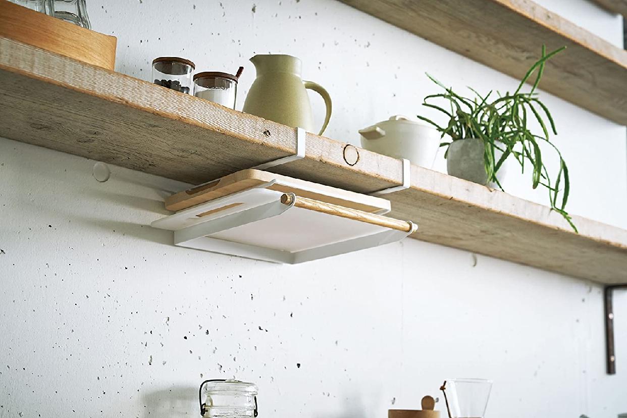 山崎実業(Yamazaki) 戸棚下まな板ホルダー トスカ 3793の商品画像2
